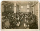 Machine room, at opening of Mechanical Building