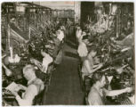 Early linotype machines
