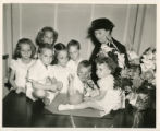 Mrs. Ella Fondren and her grandchildren