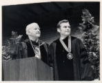 Paul Hardin and Willis Tate at Hardin's inauguration