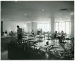 Students in Umphrey Lee Student Center dining room