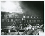 Fire at Umphrey Lee Student Center
