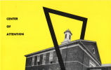Umphrey Lee Student Center 1955 Center of Attention brochure cover