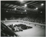 1956 graduation in the Coliseum
