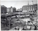 Selecman Hall construction, 1952