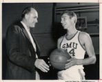 Coach Hayes and Art Barnes