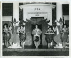 Zeta Tau Alpha students in Eastern costume