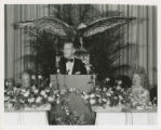 William ''Bill'' Perry Clements, Jr. giving a speech
