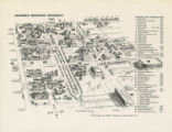 1961 SMU campus map