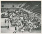 Registration in the Coliseum