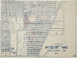 [City of University Park Map]