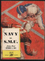 Navy vs. SMU Cotton Bowl Game Program Cover (1959)