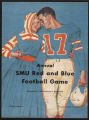 Annual SMU Red and Blue Football Game Program Cover (1961)