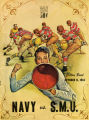 Navy vs. SMU Cotton Bowl Game Program Cover (1963)