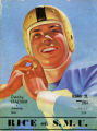 Rice vs. SMU Football Game Program Cover (1945)