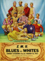 SMU Blues vs. Whites Football Game Program Cover (1953)