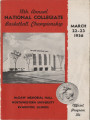 18th Annual National Collegiate Basketball Championship Basketball Game Program (1956)