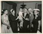 Richard Rubottom and family with John Foster Dulles