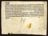 Pope Innocentius VIII. [Indulgence]. Indulgentia 1490 [Spanish]. For promoting the crusade against...