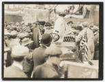 Colonel Roosevelt speaking at Bound Brook, New Jersey.