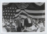 [President William Howard Taft at the 1911 Manassas National Peace Jubilee]