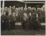 [Colonel Theodore Roosevelt with Volunteer Liberty Loan Workers from the New York District, at...
