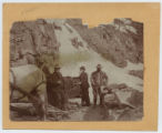 [President Theodore Roosevelt and Naturalist John Burroughs, at Yellowstone National Park]
