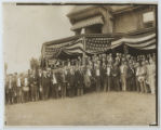 [President Theodore Roosevelt and Members of the Republican National Nominating Committee at...