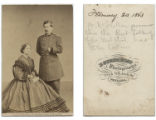 Maj. Gen. Geo. B. McClellan and lady