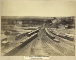 No. 125. Orange & Alexandria Railroad, View from ''Round House.''