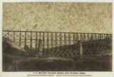No. 268. Military railroad bridge over Potomac Creek. Aquia Creek and Fredericksburg Railroad....