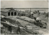 Depot, U.S. Military R.R., Va. (Engine House)