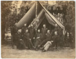 Surgeon's Head Quarters, Third Division Hospital, 9th A.C. [Army Corps]