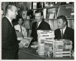 [Blackie Sherrod at book signing event]