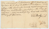 Edward C. Mosby to Albert Parkinson, Promissory Note for $78.31