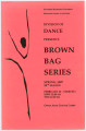 Brown Bag Series, Spring 2007