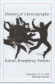 Masters of Choreography: Fokine, Humphrey, Parsons