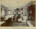 Regal suite bedrooms, starboard side, looking aft