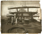 [Mauretania deck machinery]