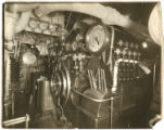 [Mauretania engine control room]