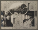 [Chinese Eastern Railway: Exterior and Interior Views of First Class Passenger Cars]