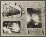 [Chinese Eastern Railway: Exterior and Interior Views of a Private Passenger Car]