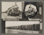 [Chinese Eastern Railway: Exterior Views of Locomotives and Freight Cars]