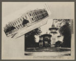 [Chinese Eastern Railway: Exterior Views of Living Quarters for Railway Employees]