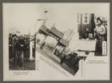 [Chinese Eastern Railway: Street Scene and Performers]