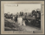 The Train with Tractors Despatched to Russia