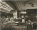 [First class lounge and music room]