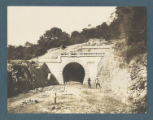 [Entrance into Tunnel on the Railroad between Cirebon and Kroya]