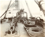 [Deck equipment and navigation bridge]