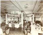 [First class dining saloon]